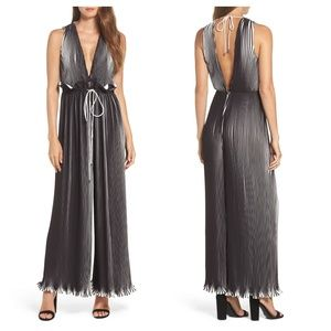 C/Meo Collective Dream Chaser Pleated Jumpsuit
